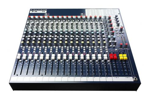 SOUNDCRAFT-SPIRIT FX 16 II