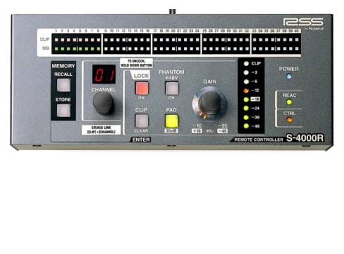 ROLAND DIGITAL RSS S-4000 R