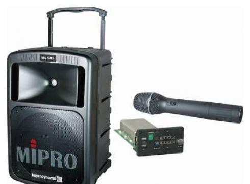 Mipro MA 808 D H-Set