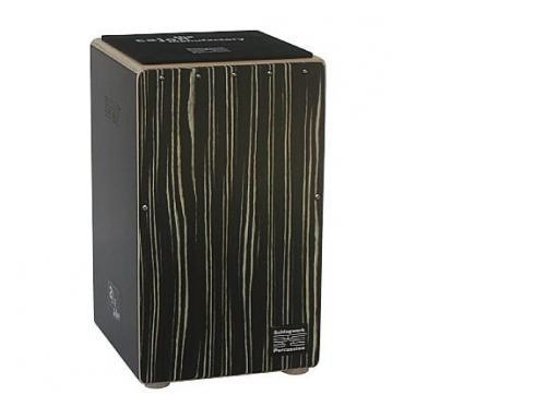 Schlagwerk 2InOne Cajon Deluxe CP426 Black Zebra