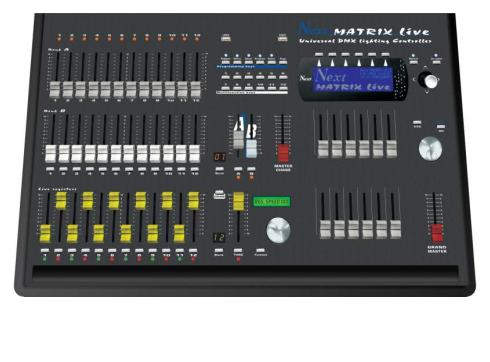 NEXT MATRIX live Universalcontroller