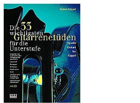 AMA VERLAG DIE 33 WICHTIGSTEN GITARRENETÜ