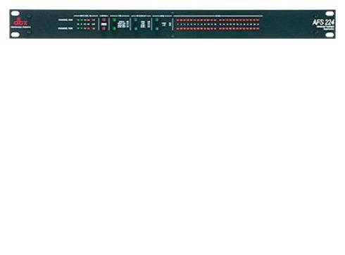 DBX 224 AFS aktiver Feedback-Prozessor