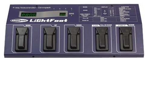 Showtec Lightfoot DMX-512 Bulgin Bodencontroller