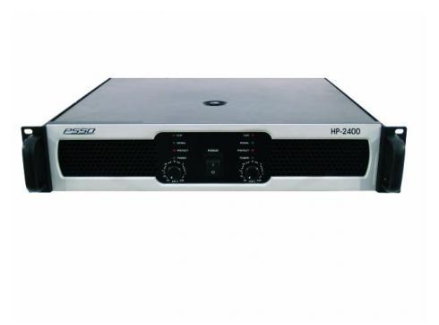 PSSO HP-2400 Endstufe 2x1200W/4Ohm