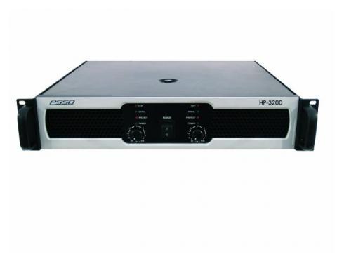 PSSO HP-3200 Endstufe 2x1600W/4Ohm