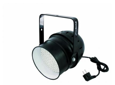 EUROLITE LED PAR-56 RGB Spot schwarz 10mm
