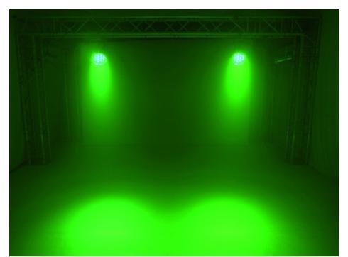 EUROLITE LED PAR-64 kurz 36x1W alu 22°
