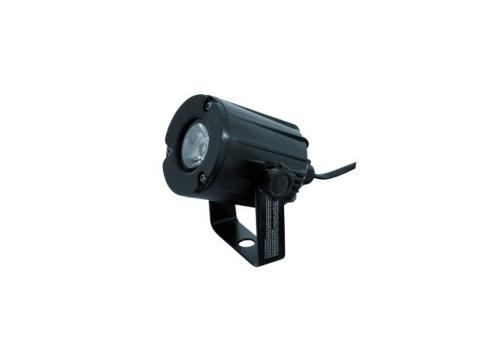 EUROLITE LED PST-3W 6000K 6° schwarz
