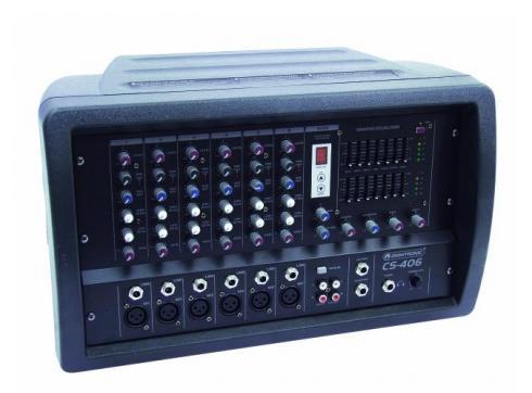 OMNITRONIC CS-406 Mischverstärker