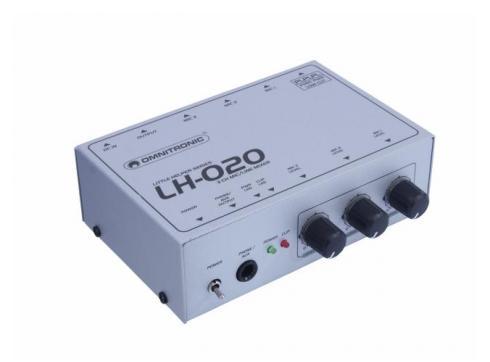 OMNITRONIC LH-020 3-Kanal Mikrofonmixer