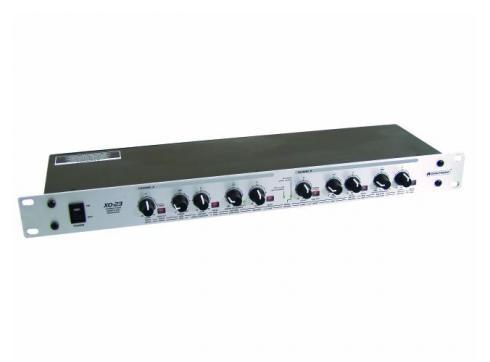 OMNITRONIC XO-23 Aktive Frequenzweiche