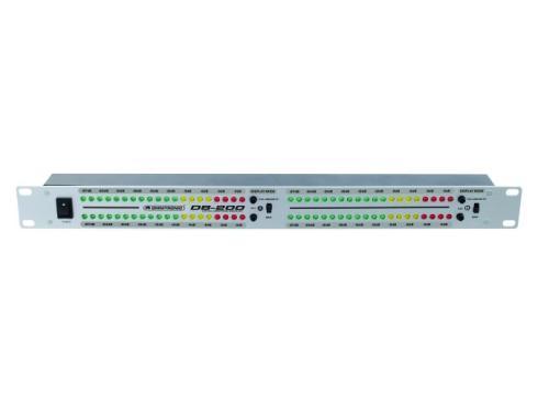 OMNITRONIC DB-200 2CH Dezibel-Levelmeter