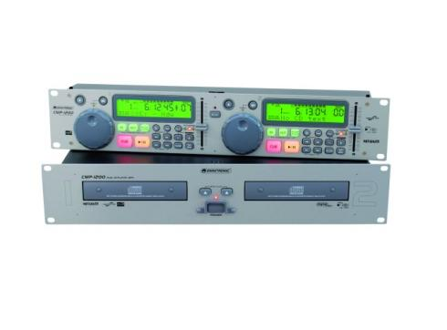OMNITRONIC CMP-1200 Dual-CD/MP3-Player