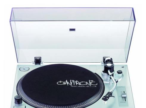 OMNITRONIC BD-1350 Plattenspieler silber