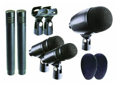 OMNITRONIC DSM-500 Mikrofon-Set