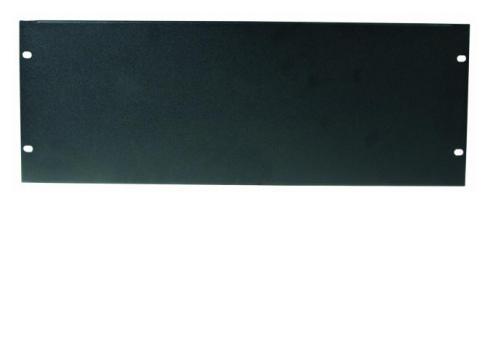 Frontplatte Z-19 U Stahl schwarz 4HE
