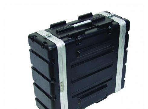 Kunststoff-Rack KR-19 4HE DD schwarz