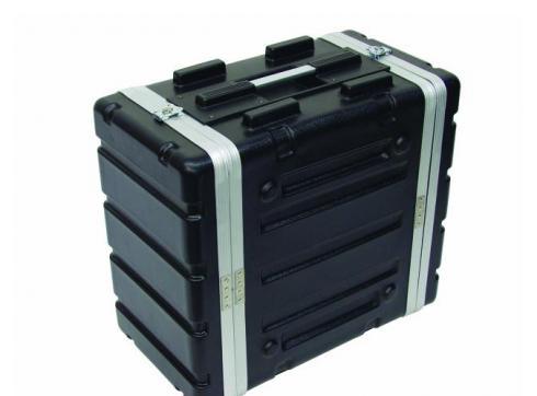 Kunststoff-Rack KR-19 6HE DD schwarz