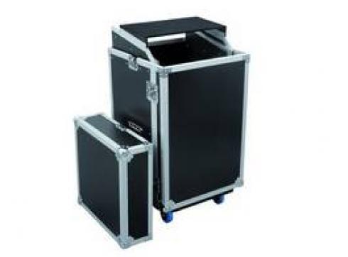 Spezial-Kombi-Case LS5 Laptop-Rack 17 HE