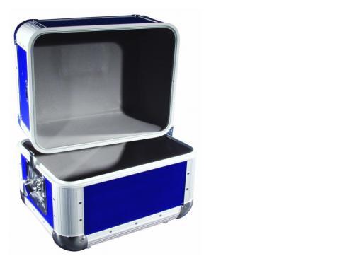 Platten-Case ALU 50/50 abgerundet blau