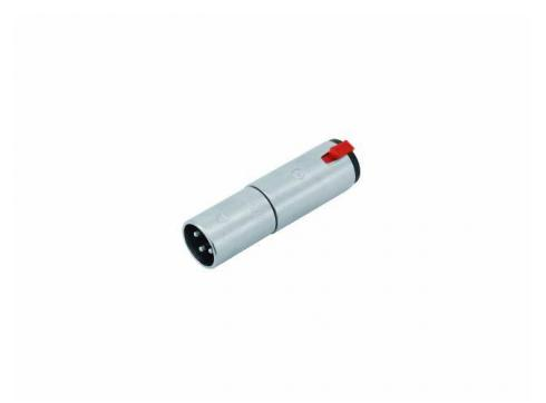 Neutrik NA3MJ Adapter XLR male/6 35 fem.