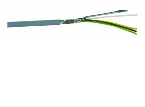 Steuerleitung-LiYCY 4x0 14 + Schirm 50m
