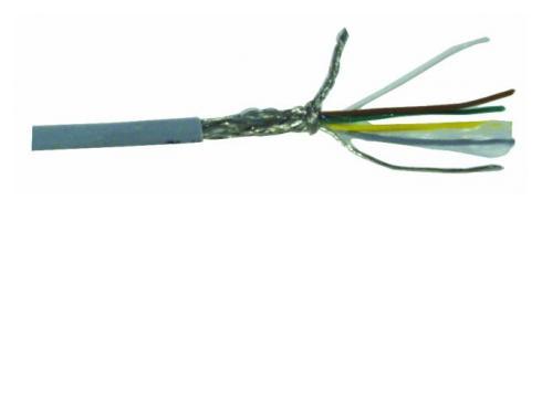 Steuerleitung-LiYCY 5x0 14 + Schirm 100m