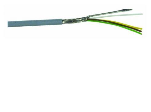Steuerleitung-LiYCY 4x0 14 + Schirm 25m