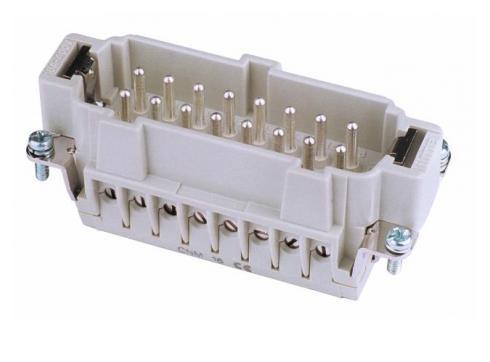 Steckereinsatz 16-pol 16A Schraubklemmen