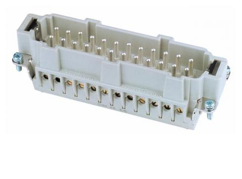 Steckereinsatz 24-pol 16A Schraubklemmen