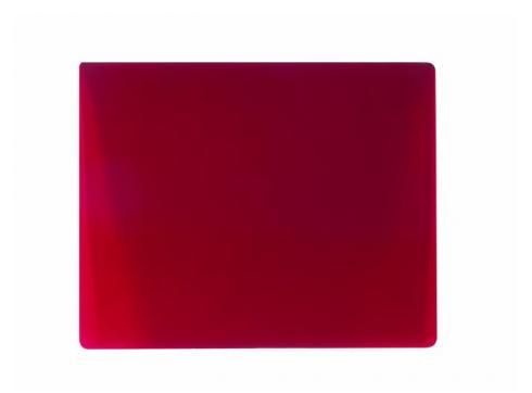 Farbglas für Fluter rot 165x132mm