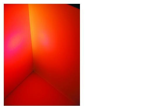 Dichro für Fluter orange frost 165x132mm