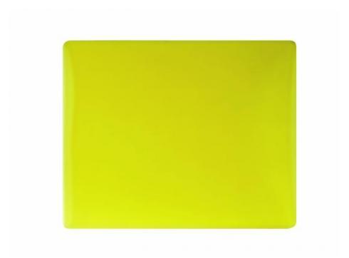 Farbglas für Fluter gelb 165x132mm