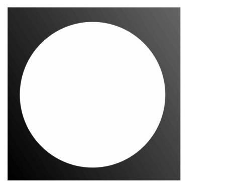 Filterrahmen PAR-56 4-eckig schwarz