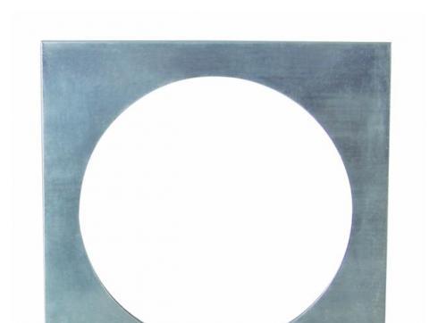 Filterrahmen PAR-56 4-eckig Aluminium