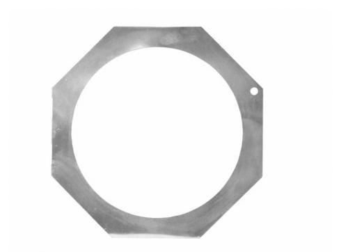 Filterrahmen PAR-64 Profi 8-eckig alu