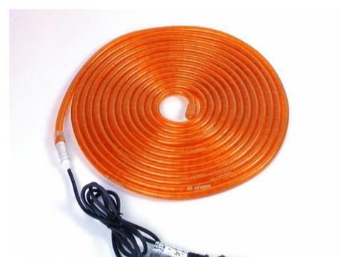RUBBERLIGHT RL1-230V orange 5m