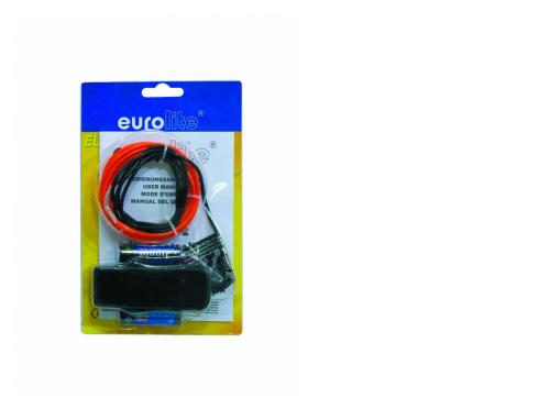 EUROLITE EL-Schnur 2mm 2m rot