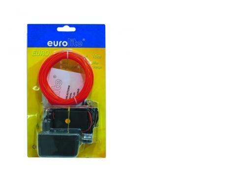 EUROLITE EL-Schnur 2mm 10m rot