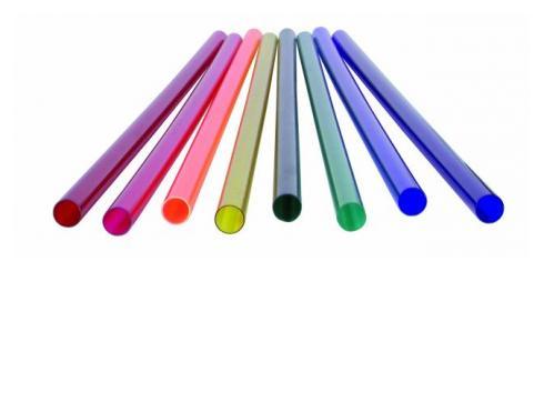 Farbrohr für T5 Neonröhre 53 9cm blau