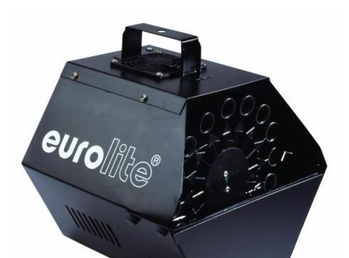 EUROLITE Seifenblasenmaschine schwarz