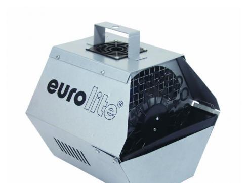 EUROLITE Seifenblasenmaschine silber