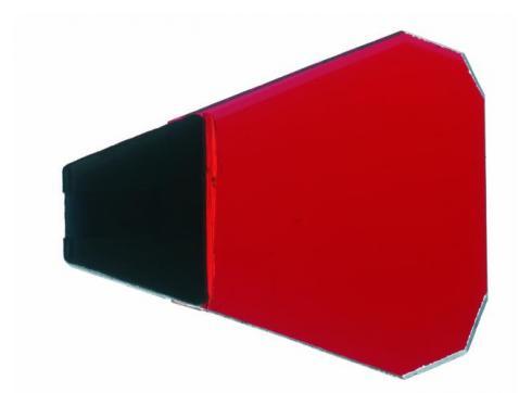 Dichro mit Halter rot Typ 2