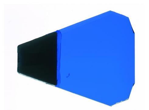Dichro mit Halter blau Typ 2