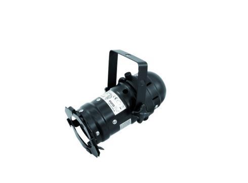 EUROLITE LED PAR-16 schw. 230V 1x3W 3200K