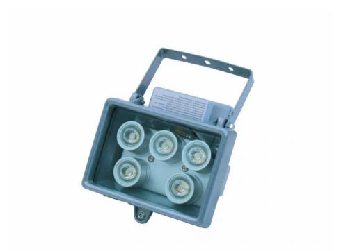 EUROLITE LED FL-5 grün 10° IP54
