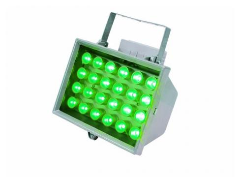 EUROLITE LED FL-24 grün 10° IP54