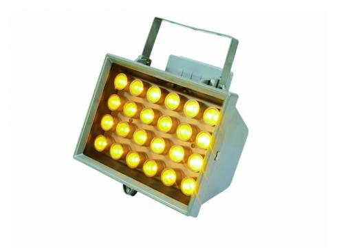 EUROLITE LED FL-24 gelb 10° IP54