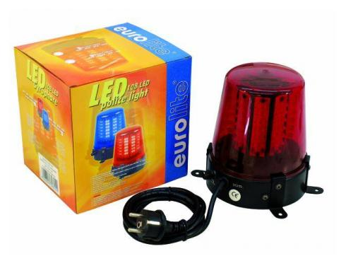 EUROLITE LED Polizeilicht 108 LEDs rot